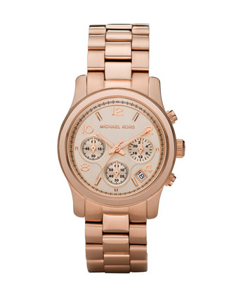 3 Rose 14 Michael Kors Watch