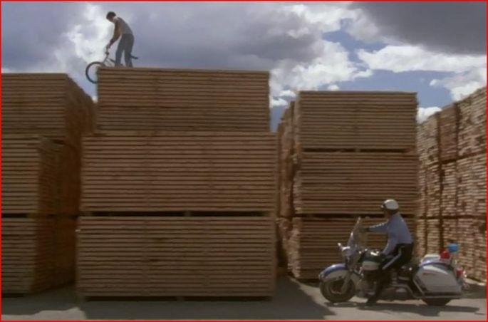 lumberyard chase