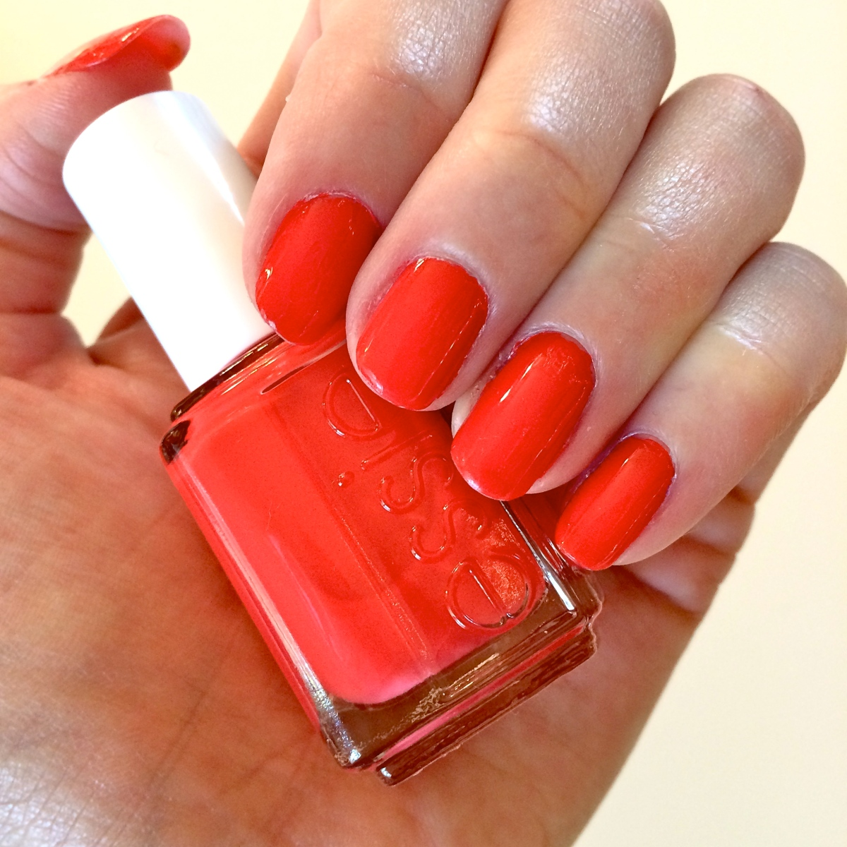 Hot Red Essie Polish