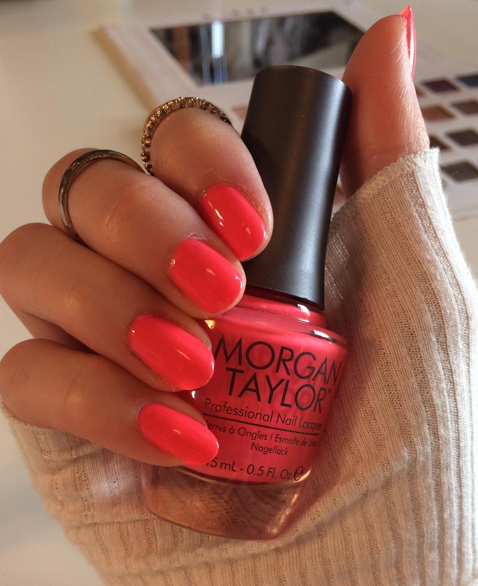 Morgan Taylor: Pink Flame-ingo
