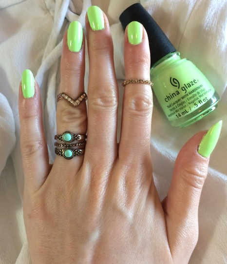 Lime Green Nails for Summer! – TAYLOR DOROTHY