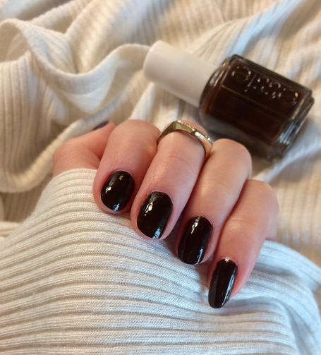 essie nail polish little brown dress