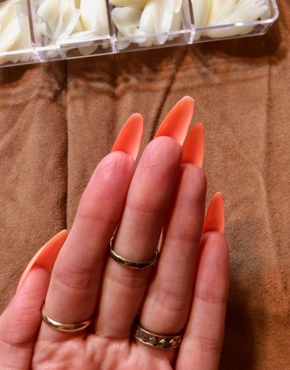 fake nails review amazon