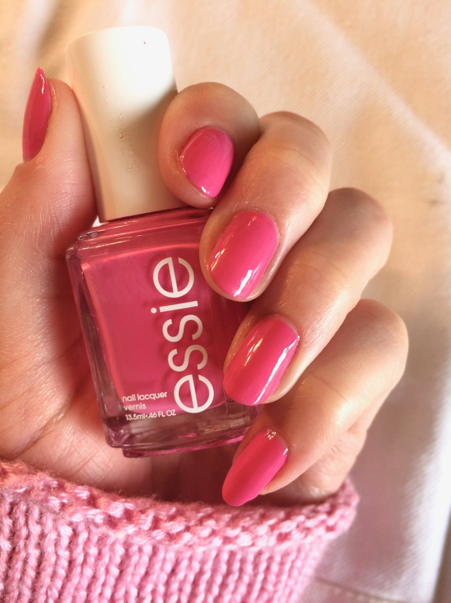 Girly Barbie Pink Nails!
