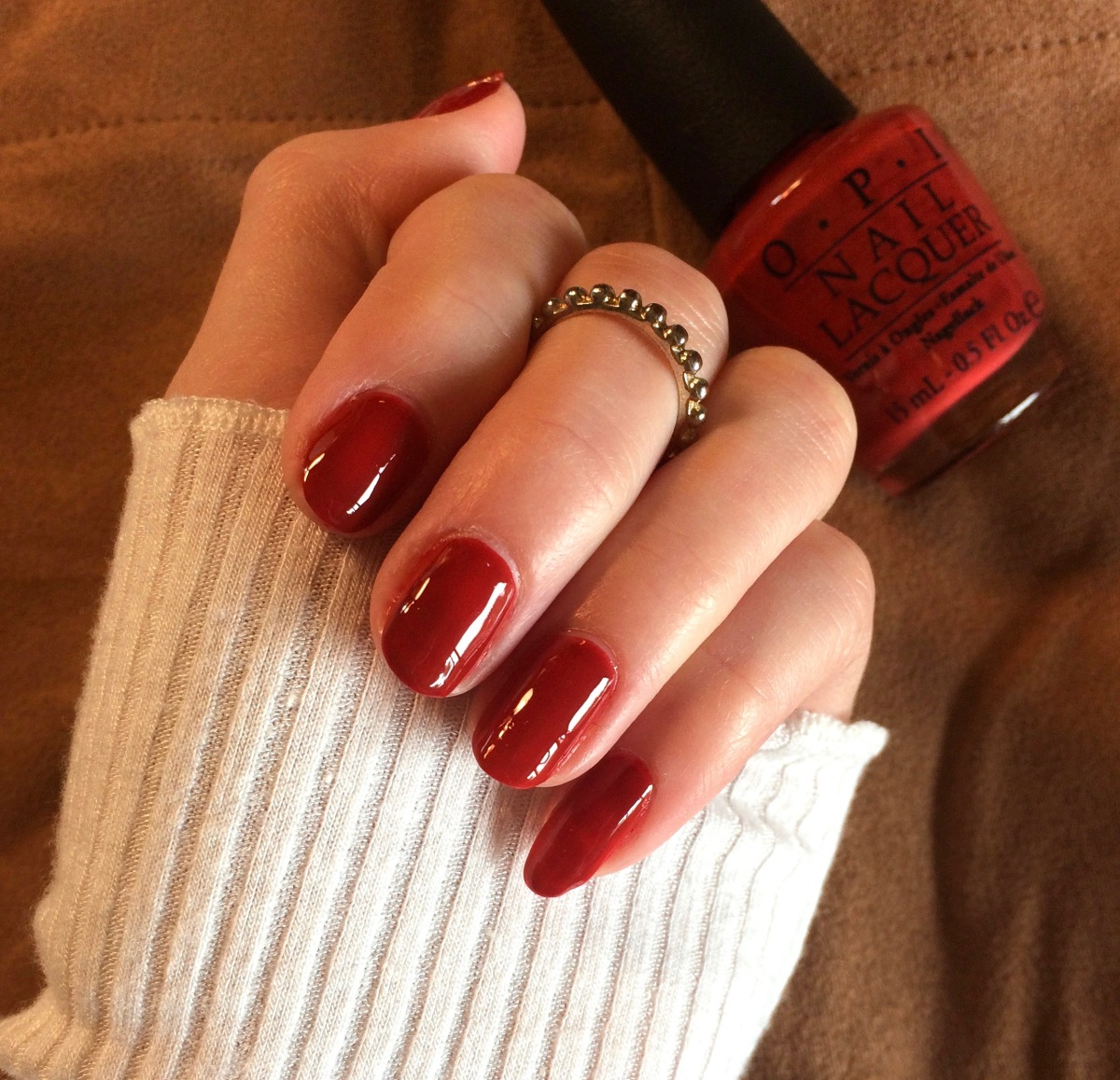 Fall Manicure: OPI's First Date At The Golden Gate