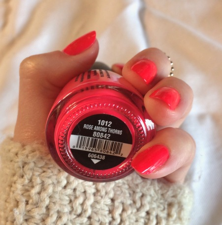 china glaze rose among thorns swatch