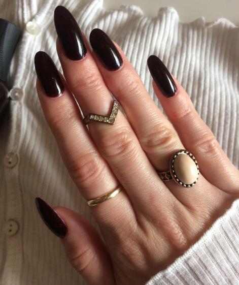 orly naughty fall nail polish review
