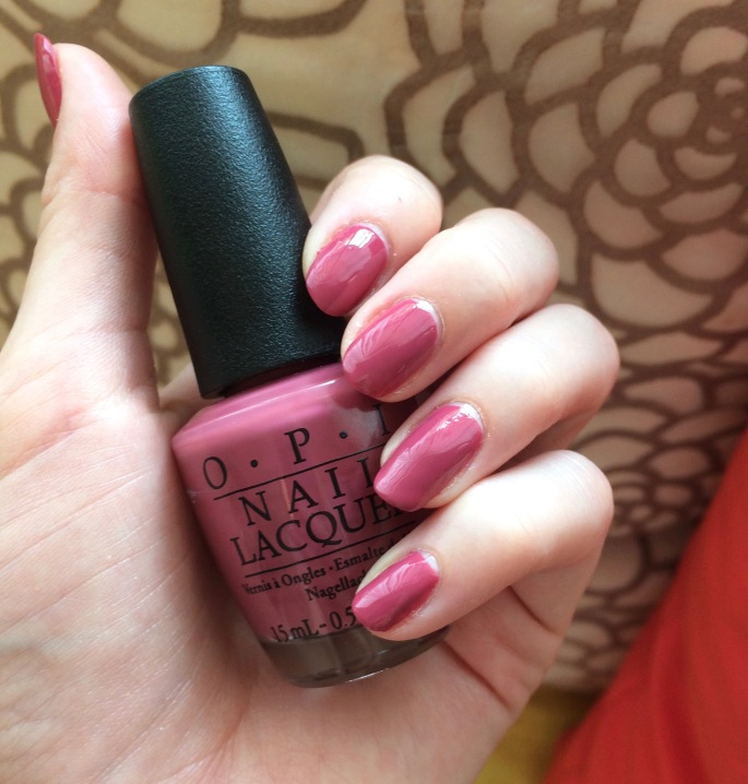 aurora berry-alis opi iceland collection nail polish swatch review