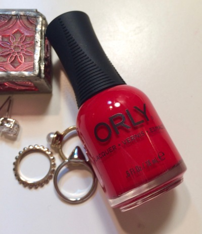 orly haute red review