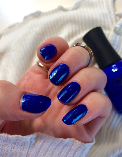 orly royal navy blue polish