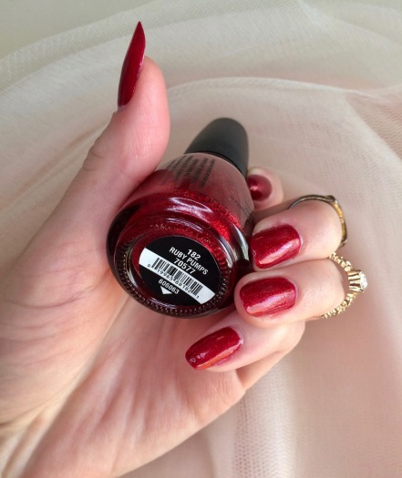 china glaze classic nail polish ruby pumps
